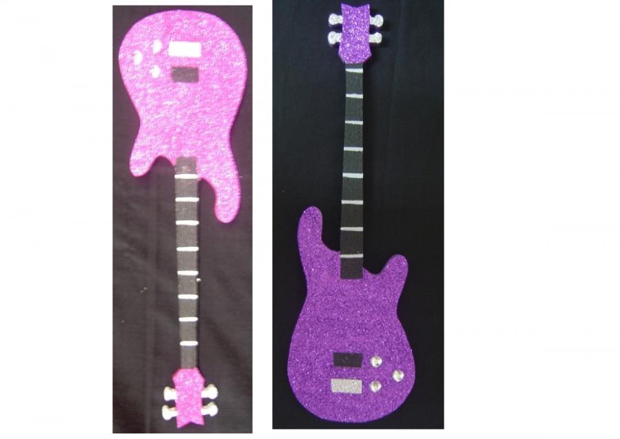 polystyrene--guitar