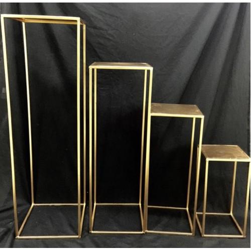 plinth--80cm--gold